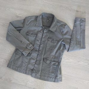 Levi's Jean Grey Wash Denim Jacket